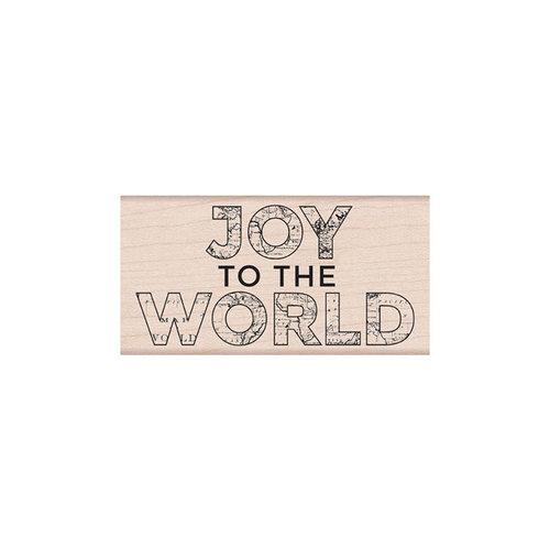 Hero Arts- Season of Wonder Collection - Christmas - Woodblock - Wood Mounted Stamps - Joy To The World
