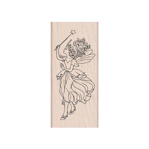 Hero Arts - Woodblock - Wood Mounted Stamps - Fairy Queen