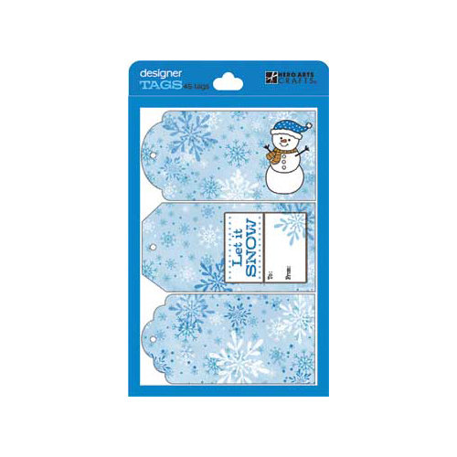 Hero Arts - Designer Tags - Just Tags Set - Blue