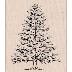 Hero Arts - Woodblock - Wood Mounted Stamps - Winter Pine