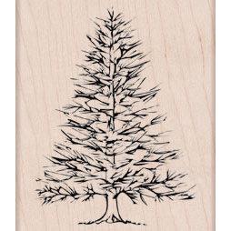 Hero Arts - Woodblock - Wood Mounted Stamps - Winter Pine