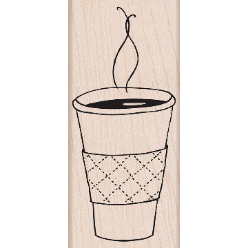 Hero Arts - Woodblock - Wood Mounted Stamps - Cup of Coffee