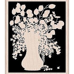 Hero Arts - Woodblock - Wood Mounted Stamps - Silhouette Vase