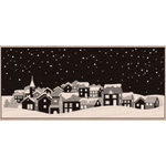 Hero Arts - Woodblock - Christmas - Wood Mounted Stamps - Winter Town