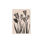 Hero Arts - Woodblock - Wood Mounted Stamps - Newspaper Tulip