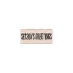 Hero Arts - Woodblock - Christmas - Wood Mounted Stamps - Big Season's Greetings