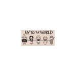 Hero Arts - Woodblock - Christmas - Wood Mounted Stamps - Joy to the World