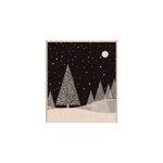 Hero Arts - Woodblock - Christmas - Wood Mounted Stamps - Winter Moon