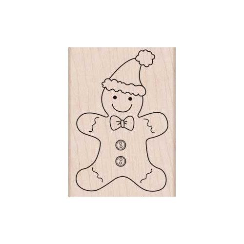 Hero Arts - Woodblock - Christmas - Wood Mounted Stamps - Gingerbread Fun
