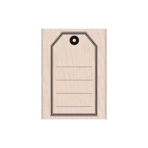 Hero Arts - Woodblock - Wood Mounted Stamps - Big Tag