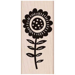 Hero Arts - Woodblock - Wood Mounted Stamps - Big Bold Flower