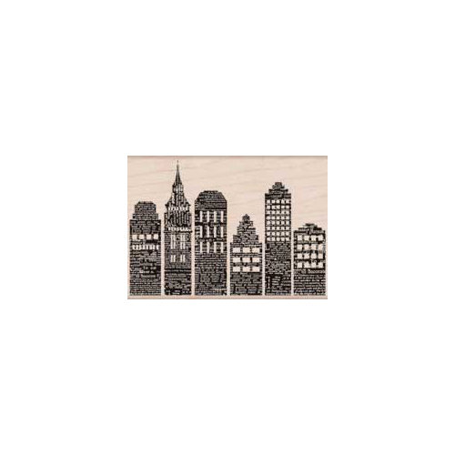 Hero Arts - Woodblock - Wood Mounted Stamps - Skyline