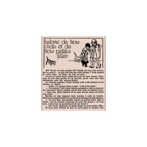 Hero Arts - Woodblock - Wood Mounted Stamps - Three Cats