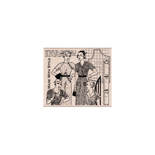 Hero Arts - Woodblock - Wood Mounted Stamps - Made with Style