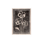 Hero Arts - Stamp Your Story Collection - Woodblock - Wood Mounted Stamps - Three Brushed Flowers