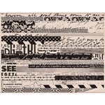 Hero Arts - Wood Block - Wood Mounted Stamp - Pattern Stripes