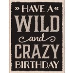 Hero Arts - Wood Block - Wood Mounted Stamp - Wild and Crazy