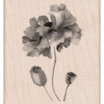 Hero Arts - Wood Block - Wood Mounted Stamp - Petals of Beauty