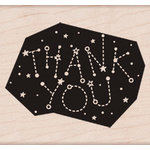Hero Arts - Wood Block - Wood Mounted Stamp - Thank You Constellation