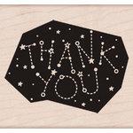 Hero Arts - Wood Block - Wood Mounted Stamp - Thank You Constellation