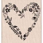Hero Arts - Woodblock - Wood Mounted Stamps - Love from the Garden