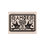 Hero Arts - Woodblock - Wood Mounted Stamps - Amor