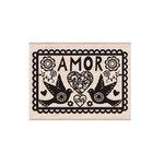 Hero Arts - Woodblock - Wood Mounted Stamps - Amor