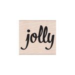 Hero Arts - Woodblock - Christmas - Wood Mounted Stamps - Bold Jolly