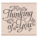 Hero Arts - Woodblock - Wood Mounted Stamps - Fancy Thinking of You