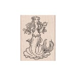 Hero Arts - Woodblock - Wood Mounted Stamps - Mermaid