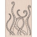 Hero Arts - Woodblock - Wood Mounted Stamps - Tentacles