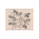 Hero Arts - Woodblock - Wood Mounted Stamps - The Holly and the Ivy