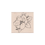 Hero Arts - Woodblock - Wood Mounted Stamps - Flowering Magnolia