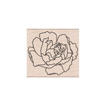 Hero Arts - Woodblock - Wood Mounted Stamps - Artistic Peony