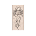 Hero Arts- Season of Wonder Collection - Woodblock - Wood Mounted Stamps - Heavenly Angel