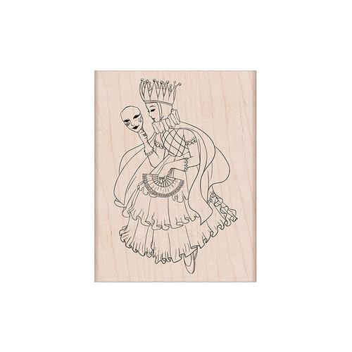 Hero Arts - Woodblock - Wood Mounted Stamps - Venetian Maiden