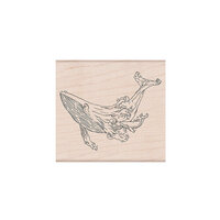 Hero Arts - Woodblock - Wood Mounted Stamps - Celebrate Earth Whales