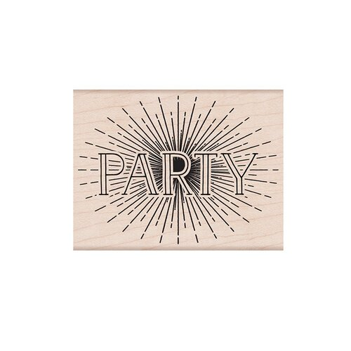 Hero Arts - Woodblock - Wood Mounted Stamps - Party