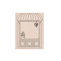 Hero Arts - Woodblock - Wood Mounted Stamps - Flower Shop Front