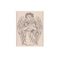 Hero Arts - Wood Mounted Stamps - Christmas Angel