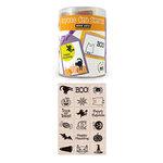 Hero Arts - Woodblock - Halloween - Wood Mounted Stamps - Halloween Stamp Set