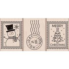 Hero Arts - Woodblock - Christmas - Wood Mounted Stamps - Christmas Post