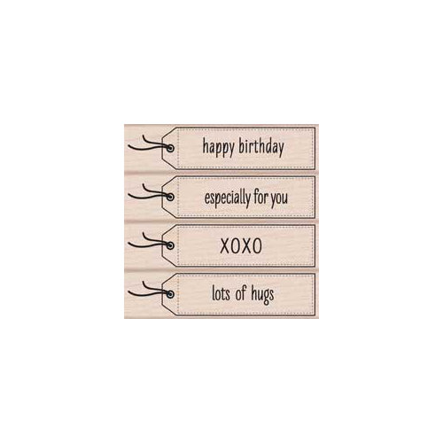 Hero Arts - Woodblock - Wood Mounted Stamps - Lots of Hugs