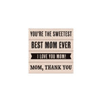 Hero Arts - Woodblock - Wood Mounted Stamps - Best Mom Ever