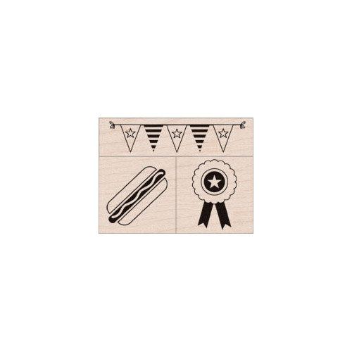 Hero Arts - Woodblock - Wood Mounted Stamps - Happy Summer