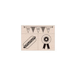 Hero Arts - Woodblock - Wood Mounted Stamps - Happy Summer