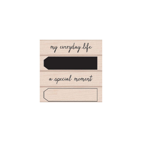Hero Arts - Woodblock - Wood Mounted Stamps - My Everyday Life
