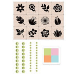 Hero Arts - Spring Collection - Flower Garden Mini Tub