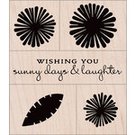 Hero Arts - Color Layering Collection - Woodblock - Wood Mounted Stamps - Daisies