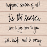 Hero Arts - Kelly Purkey Collection - Woodblock - Wood Mounted Stamps - Kelly's Happiest Season of All